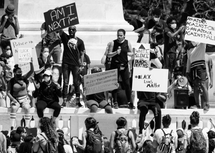 George Floyd protest DC